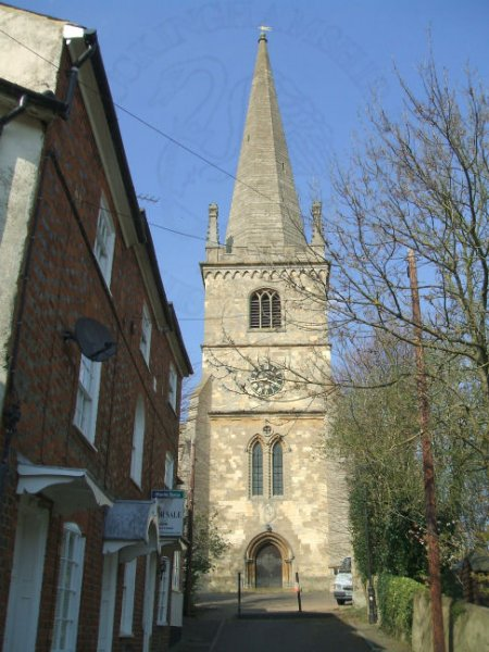 Buckingham Church Spire