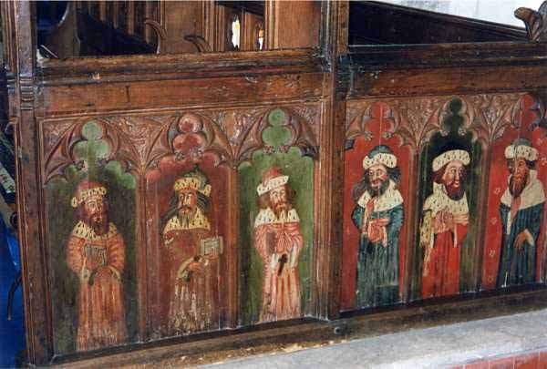 Monks Risborough Rood Screen