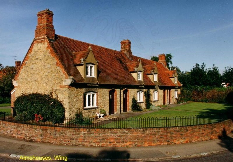 Almshouses, Wing