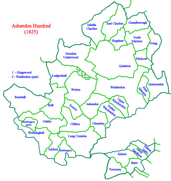 Ashendon Map