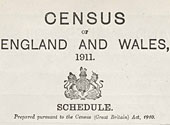 1911 census schedule front page