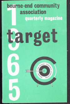 Cover of first issue of Target Magazine